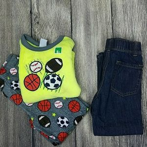 Boys Old Navy Straight Driot Jeans Sz 4T